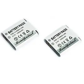 Remplacement 2 X Batterie Li-Ion Type Li-50b / D-Li92