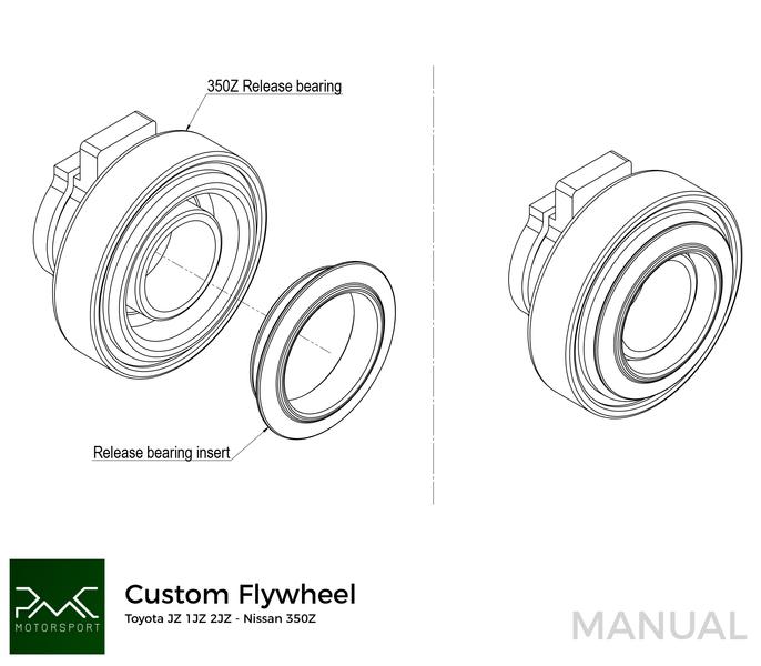 PMC Motorsport Custom ultralight Flywheel GM Chevrolet V8