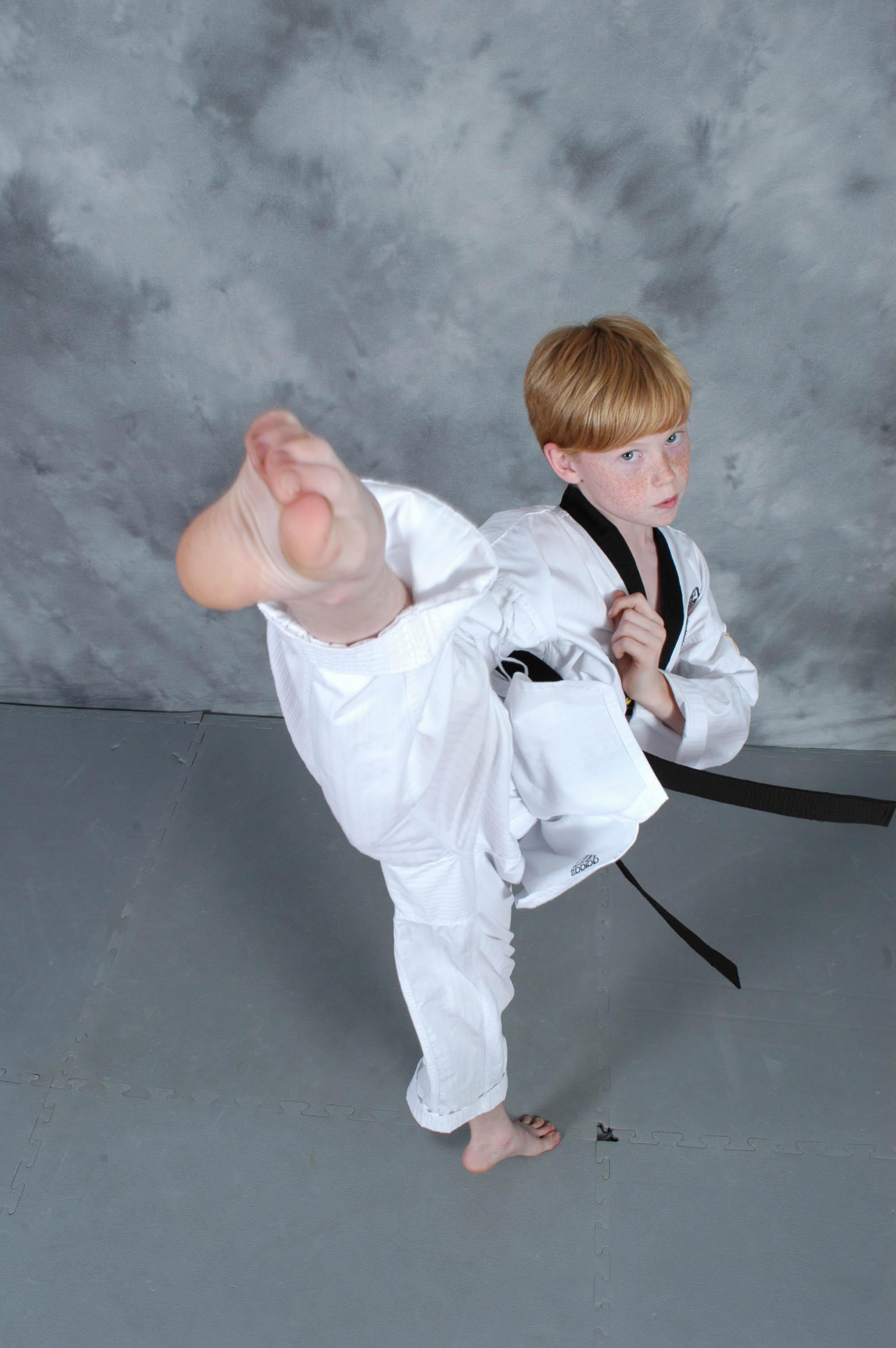 Martial Arts Black Belt Boys