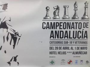 CARTEL CAMPEONATO ANDALUCIA AJEDREZ EN ALMUÑECAR 17