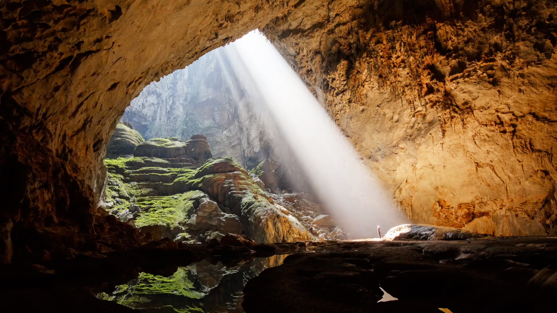 Image result for Son Doong Cave, Vietnam. Photo credit Ryan Deboodt