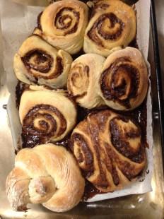 leftover dough