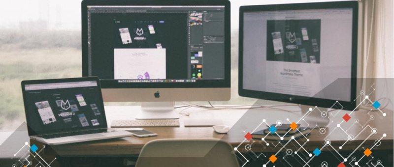 Travail de création de site web