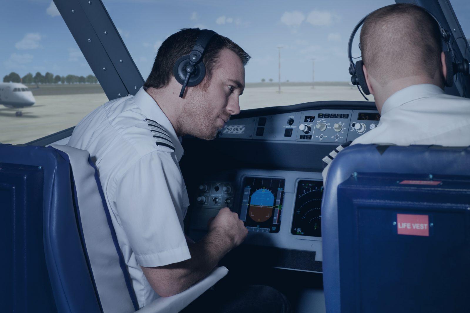 Airline simulator preparation
