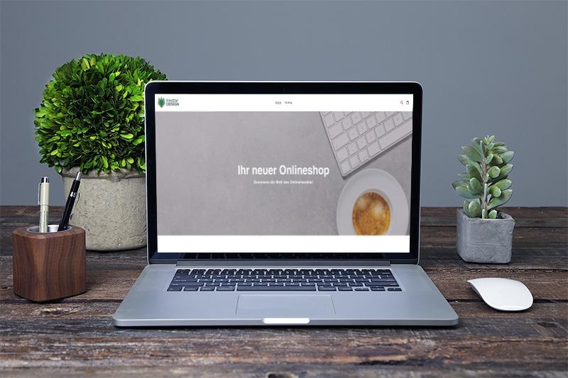Onlineshop Agentur PMGW Design