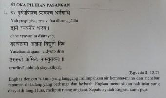 SLOKA PILIHAN PASANGAN 1