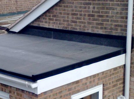 Roof coating over EPDM