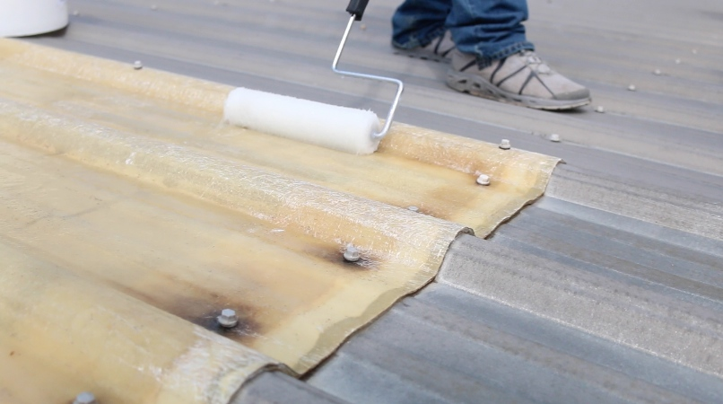 Residential skylight coating