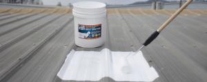 Applying roof coating is inexpensive