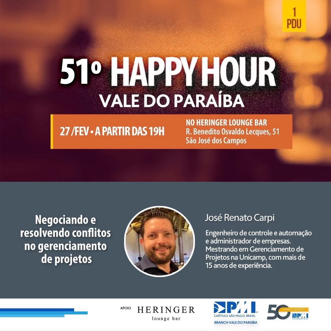 51 Happy Hour Vale do Paraíba