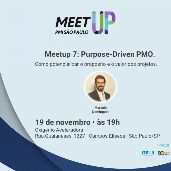 Meet Up - Purpose-Driven PMO