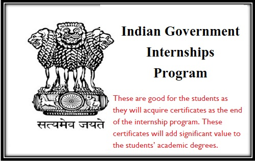 List of Indian Government Internships Schemes and Program 2018 - PM