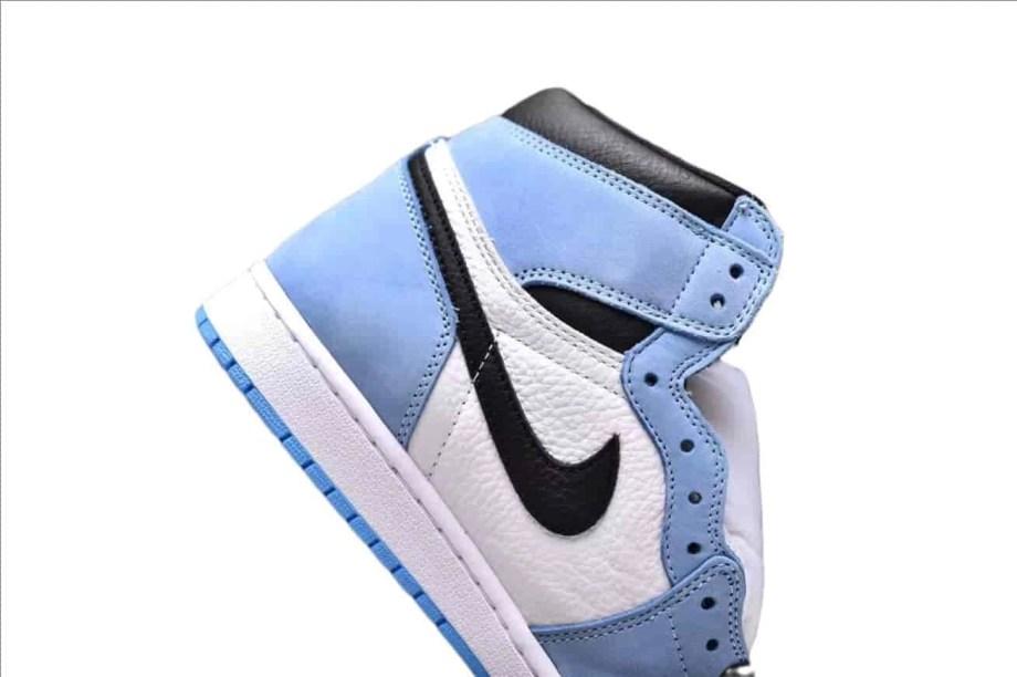 Jordan 1 Retro High White University Blue Black (5)