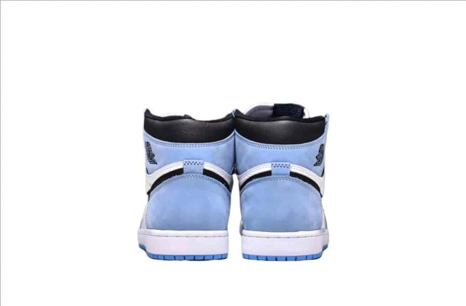 Jordan 1 Retro High White University Blue Black (8)