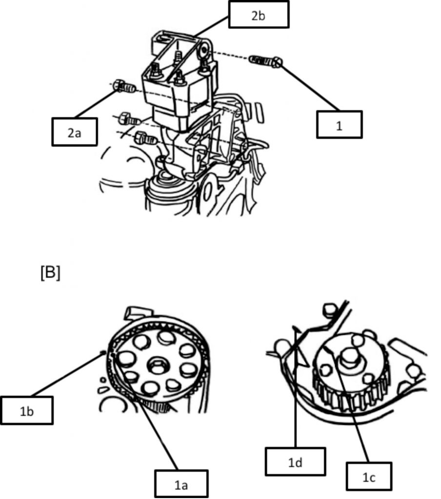 hight resolution of how to fit a timing belt on a fiat panda professional motor mechanic fiat panda engine diagram