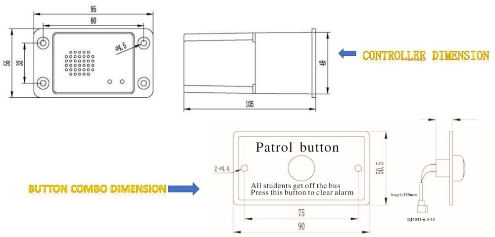 medium resolution of school bus security patrol system description sps 11