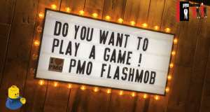 Lego Serious Play at PMO Flashmob