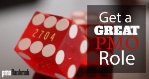 Get a Great PMO Role