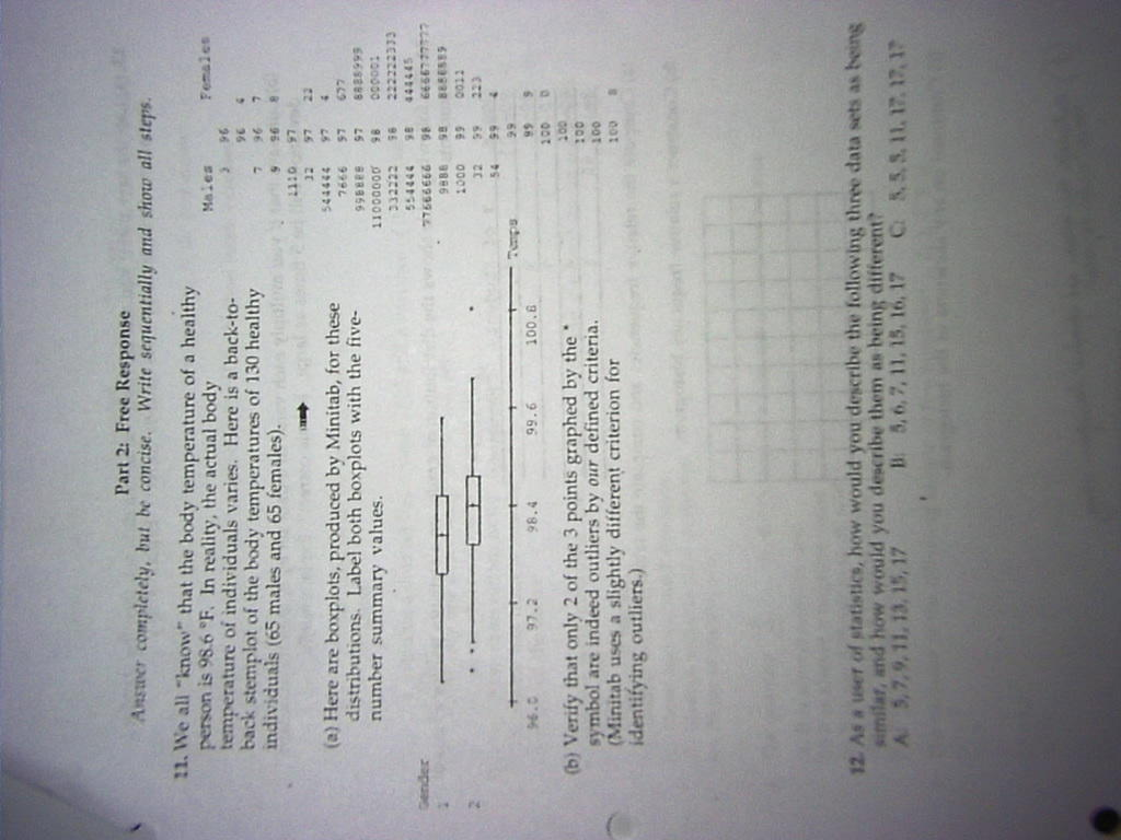 Pmoss Statistics Handouts