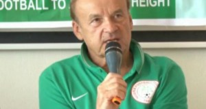 ..Gernot Rohr...Super Eagles' Technical Adviser...