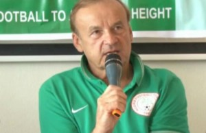 ..Gernot Rohr...Super Eagles' Technical Adviser...