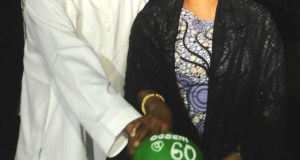 Rauf Aregbesola and his wife, Sherifat