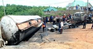 Ibadan tanker fire...