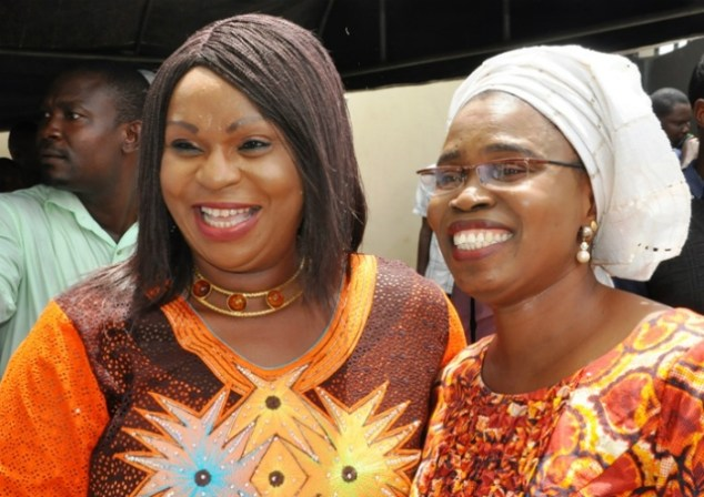 Mrs Bisi Yomi-Layinka (left) and Pastor (Mrs) Olubi Johnson