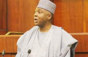 Dr Bukola Saraki, Nigeria's Senate President...