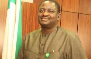 Femi Adesina...Presidential spokesman in Nigeria...