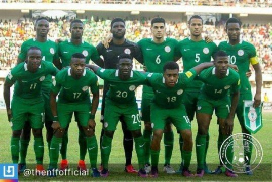 Nigeria's Super Eagles....