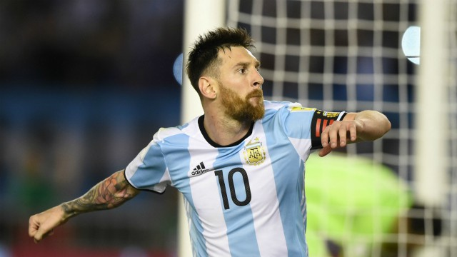 Lionel Messi...Argentina's pointsman...