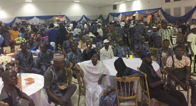 Pasuma's teeming lovers in the filled hall...