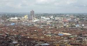 A view of a section of Ibadan...the capital city of Oyo State of Nigeria...