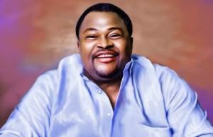 Dr Mike Adenuga...the celebrant...