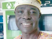 Rt Hon Olagunju Ojo...the 'mint fresh' Speaker of the Oyo State House of Assembly...
