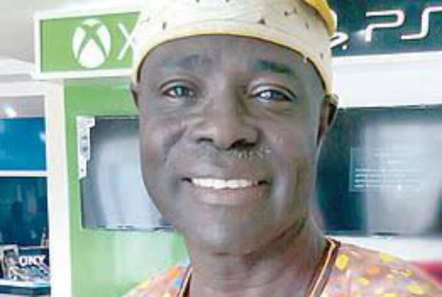 Rt Hon Olagunju Ojo...the 'mint fresh' Speaker of the Oyo State House of Assembly...