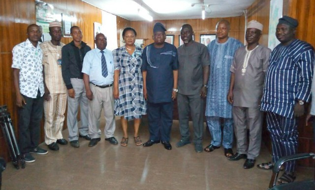 The SWAN team on a visit to Ibadan...