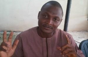Hon Olusegun Olaleye...radically now following Senator Rashidi Ladoja...(thenationonlineng.net photo)