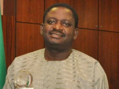 Mr Femi Adesina...expected in PMParrot's Office, Space FM Radio...