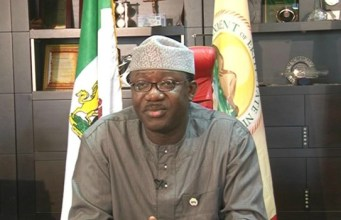 Dr Kayode Fayemi, the Governor of Ekiti State...