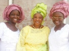 L-R: Mrs. Bosede Oguntade, Group Matron, Chief (Mrs.) Adeleke and Mrs. Deborah Alalade at the event