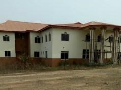 ...the site of the new Ado Ekiti LG Secretariat...