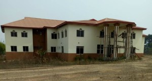 ...the site of the new Ado Ekiti LG Secretariat...