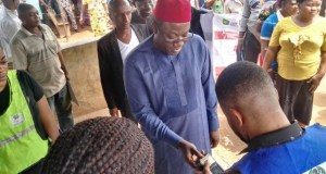 Dr Kayode Fayemi...about to vote on Saturday...