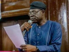 ...the Speaker, Oyo State House of Assembly, Hon. Olagunju Ojo...