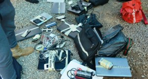 ...some of the items recovered from the suspected 'Yahoo-Yahoo' boys by EFCC operatives...