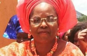 Mrs Ganiyat Fawehinmi