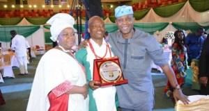 Chief Mrs Omotoso, Former DG, NTDC, Wale Ojo Lanre, DG Ekiti state Council of Arts and Culture and Ambassador Wanle Akinboboye, President La Campagne Tropicana beach resort Lekki, Lagos…at the event…