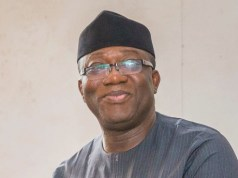 Dr Kayode Fayemi...the governor of Ekiti State...